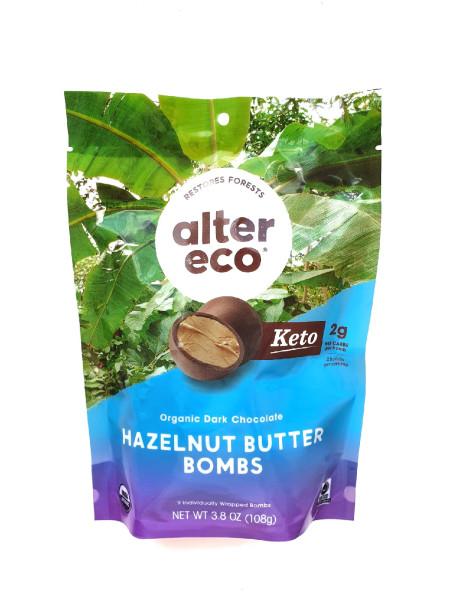 Шоколадные бомбочки с маслом лесного ореха от Alter Eco.