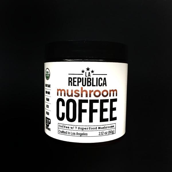 LA Republica, Mushroom Coffee, 2.12 oz (60 g)