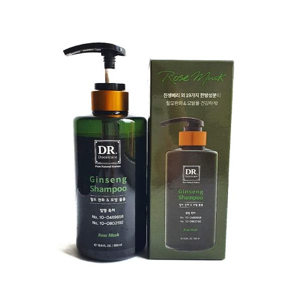 Doori Cosmetics, Daeng Gi Meo Ri, Dr. Ginseng Shampoo, Rose Musk, 16.9 fl oz