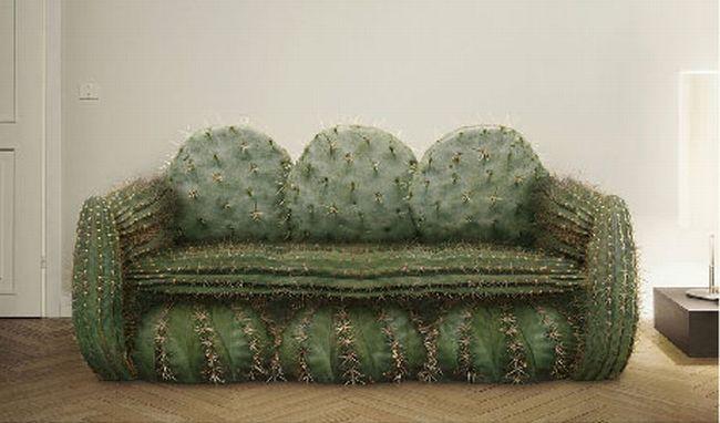 кресло из кактуса