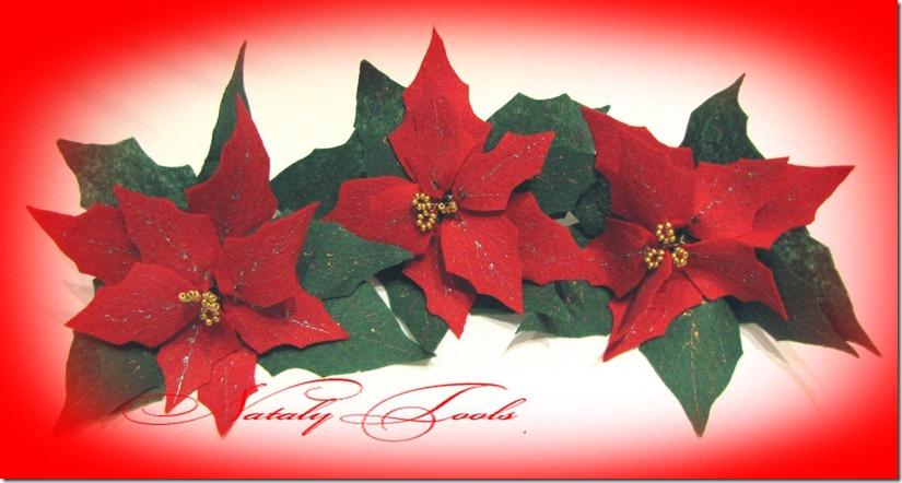 Рождественская звезда цветок своими руками