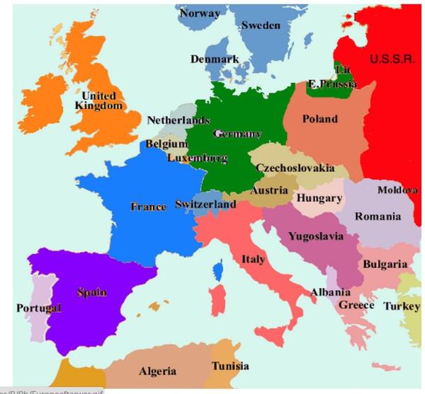 Размер Югославии