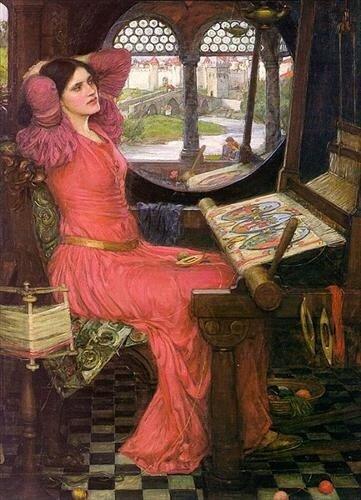 Д. Уотерхаус. I am Half-Sick of Shadows, said the Lady of Shalott. 1916