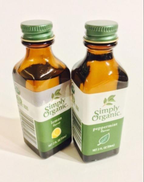 Simply Organic. Лимонный ароматизатор, 2 жидких унций (59 мл)