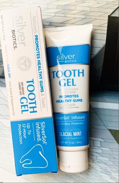 American Biotech Labs. Зубной гель с наночастицами серебра SilverSol