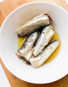 Reese, Fancy Sardines in 100% Olive Oil, 4.375 oz (124 g)