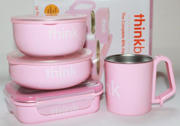 Think, Thinkbaby. Набор детской посуды не содержащий бисфенол А