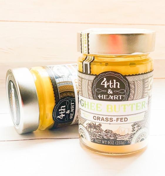 4th & Heart, Ghee Butter, Grass-Fed, Vanilla Bean