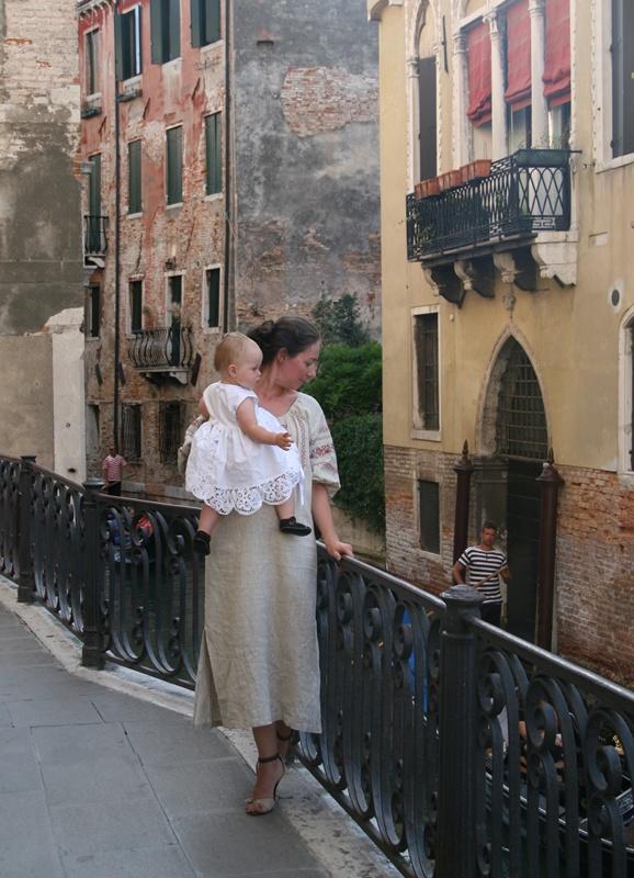 Venice Peasant Dress2