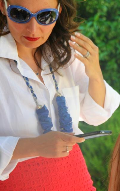 Masha Crisp White Shirt Natalia Lavrishina Blog