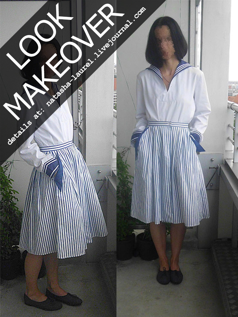 Lavrishina blog project makeover sailor look