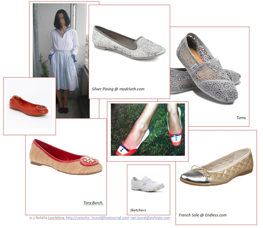 Lavrishina blog project makeover sailor  look shoes