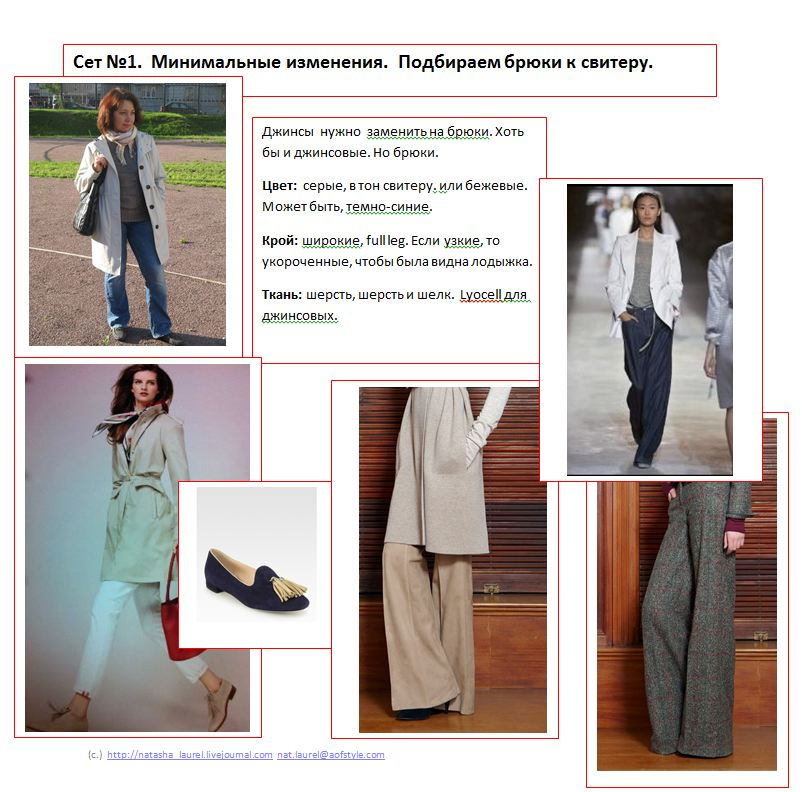 Lavrishina blog look makeover 8 light trench trousers spread