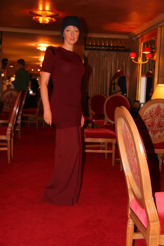 lavrishina blog raf simons veiled beaniey w ox blood