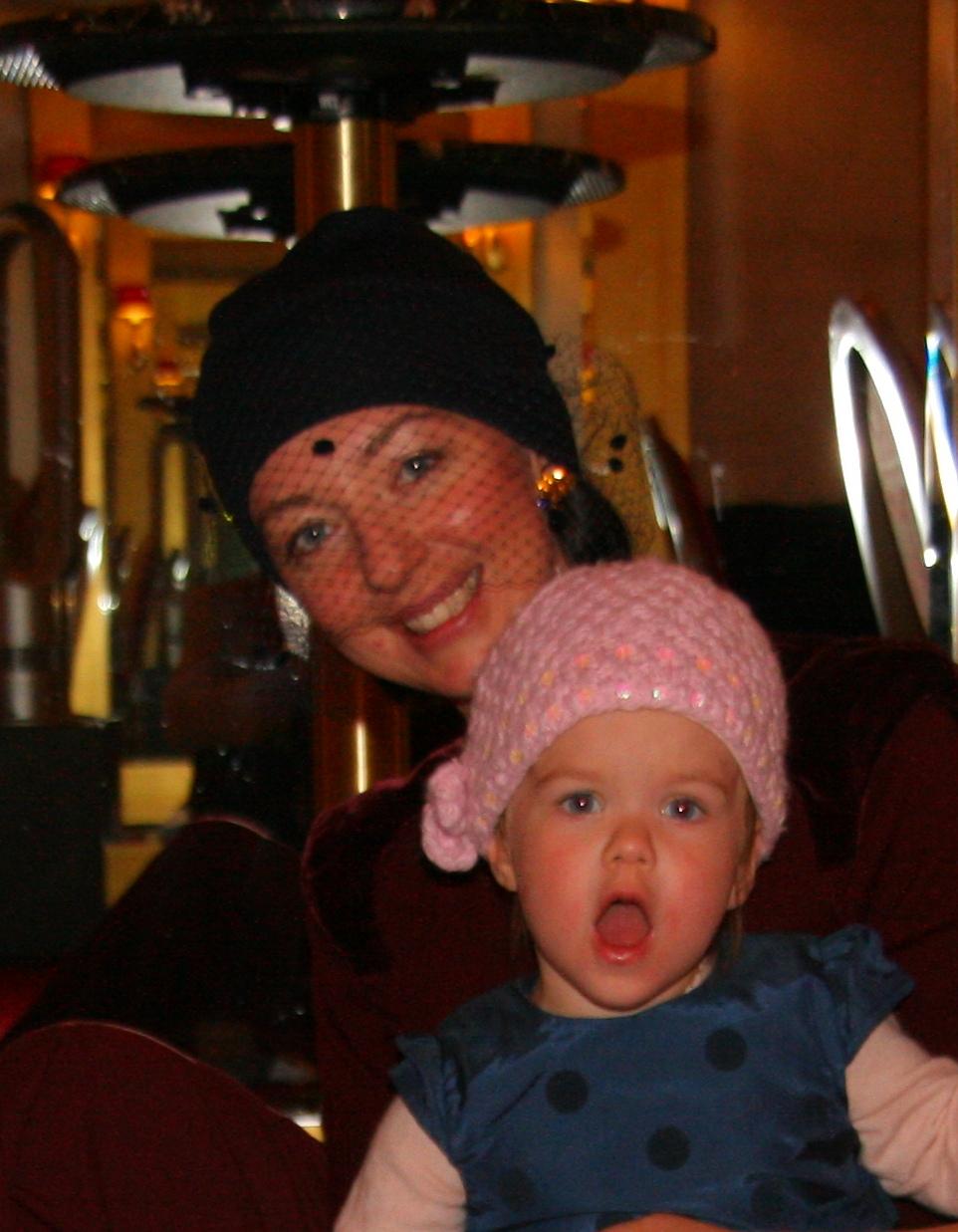 lavrishina blog raf simons veiled beaney with toddler daughter sylvia