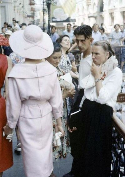 dior in the USSR TSUM