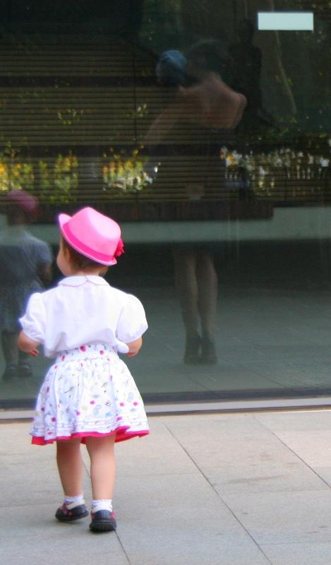 Lavrishina blog reflection in mirror with sylvia
