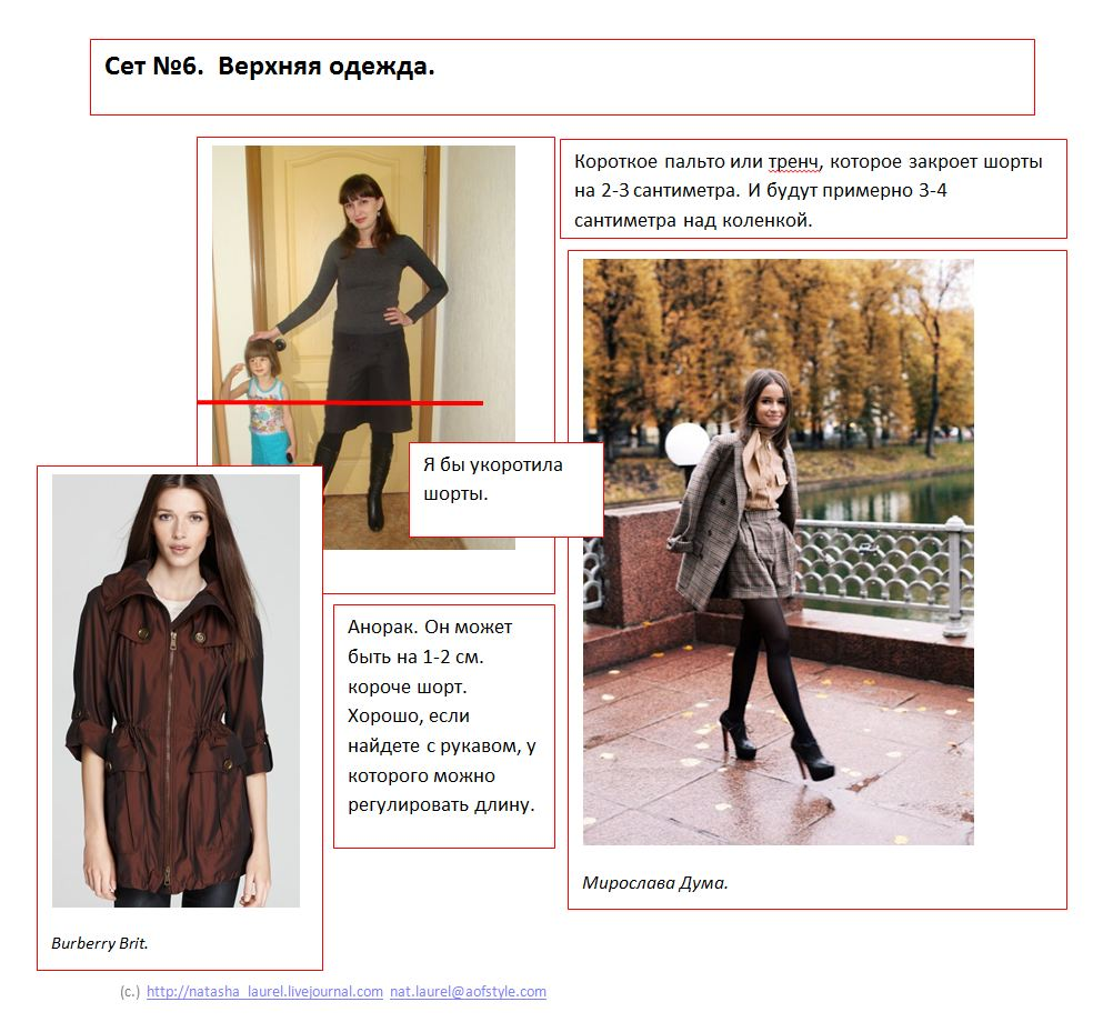 Lavrishina blog project look makeover 10 wool shorts spread six outerwear