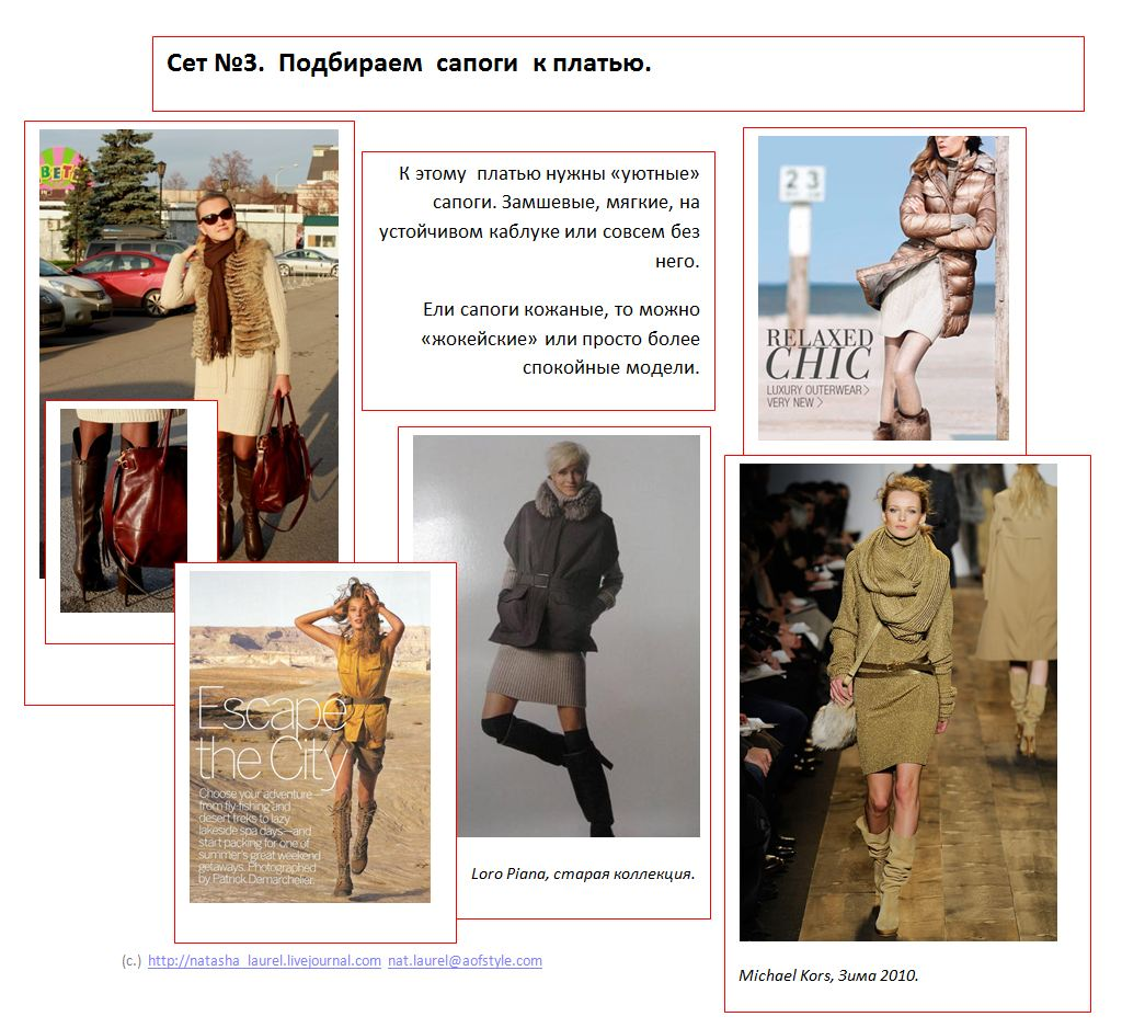 Lavrishina blog project look makeover 11 safari look spread three boots