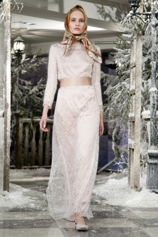 Anastasia Romantsova Winter 2013 14