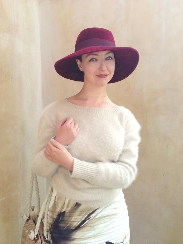 Lavrishina blog max mara stuff with j crew hat