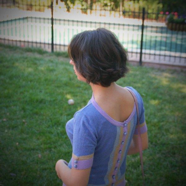 Lavrishing blog kint wearing backwards back view for posting