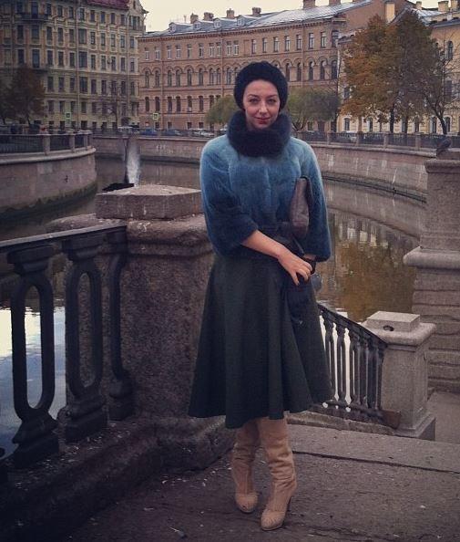 Green Full Skirt