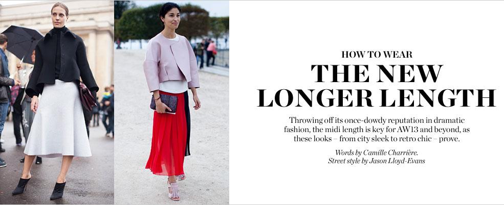 the new length matces fashion