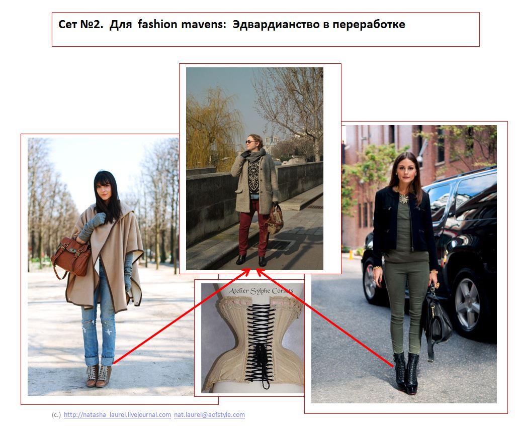 Lavrishina blog Look Makeover 14 Light Coat and Jeans Slide Two Edwardian Reworked