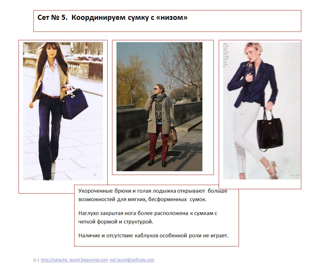 Lavrishina blog Look Makeover 14 Light Coat and Jeans Slide Five Shoes and Bags