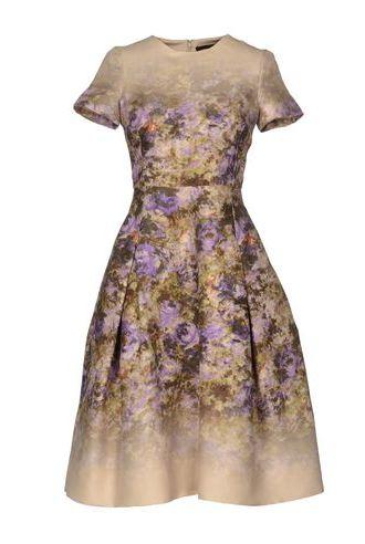 Maurizio Pecorado Silk Dress