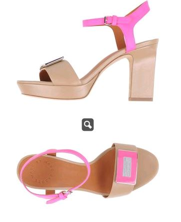Marc Jacobs Sandals Chunky Heel