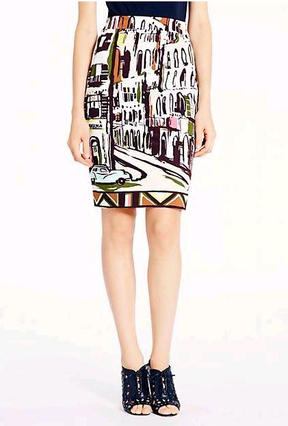 Kate Spade NY Landscape Skirt