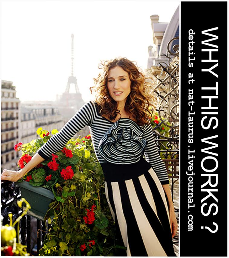 Lavrishina Blog Project Why This Works SJP  in Stripes
