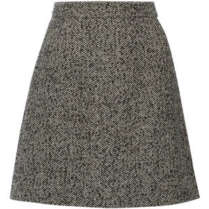 Dolce Gabbana Tweed Mini Skirt