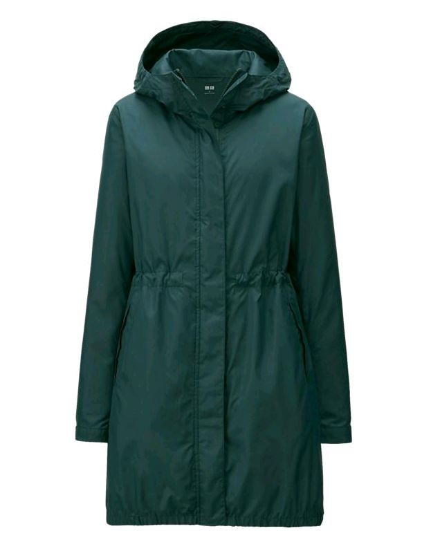 Uniqlo Dark Green Parka