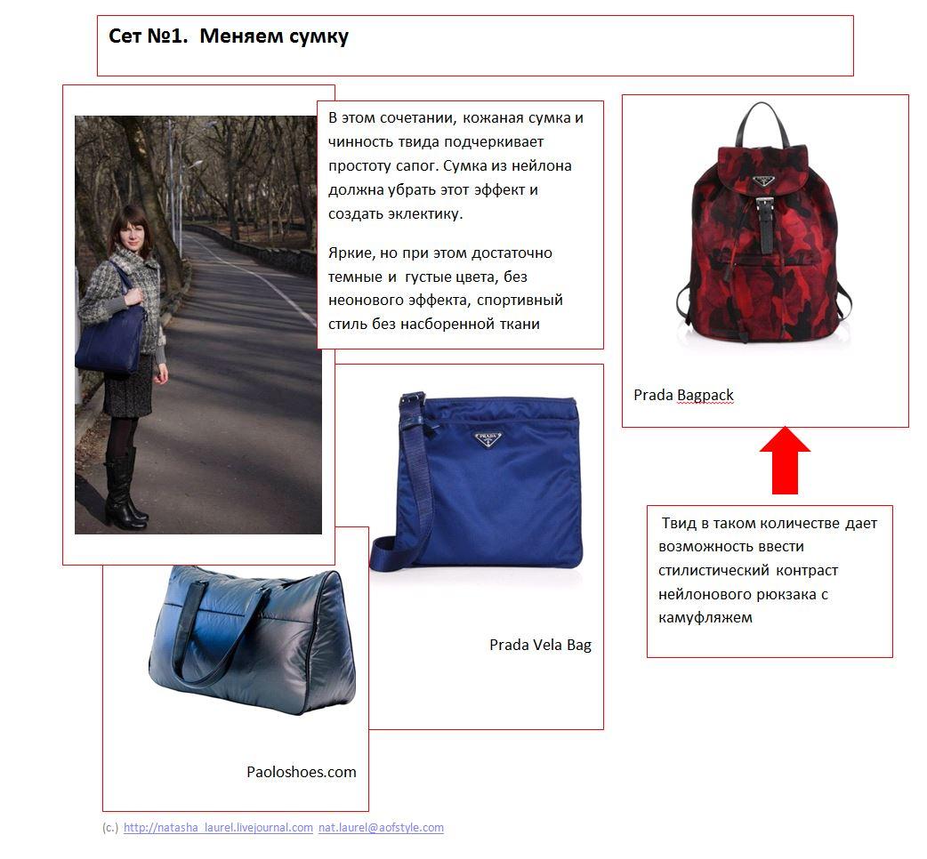 Lavrishina Blog Makeover 18 Tweed  Slide One  Nylon Purses