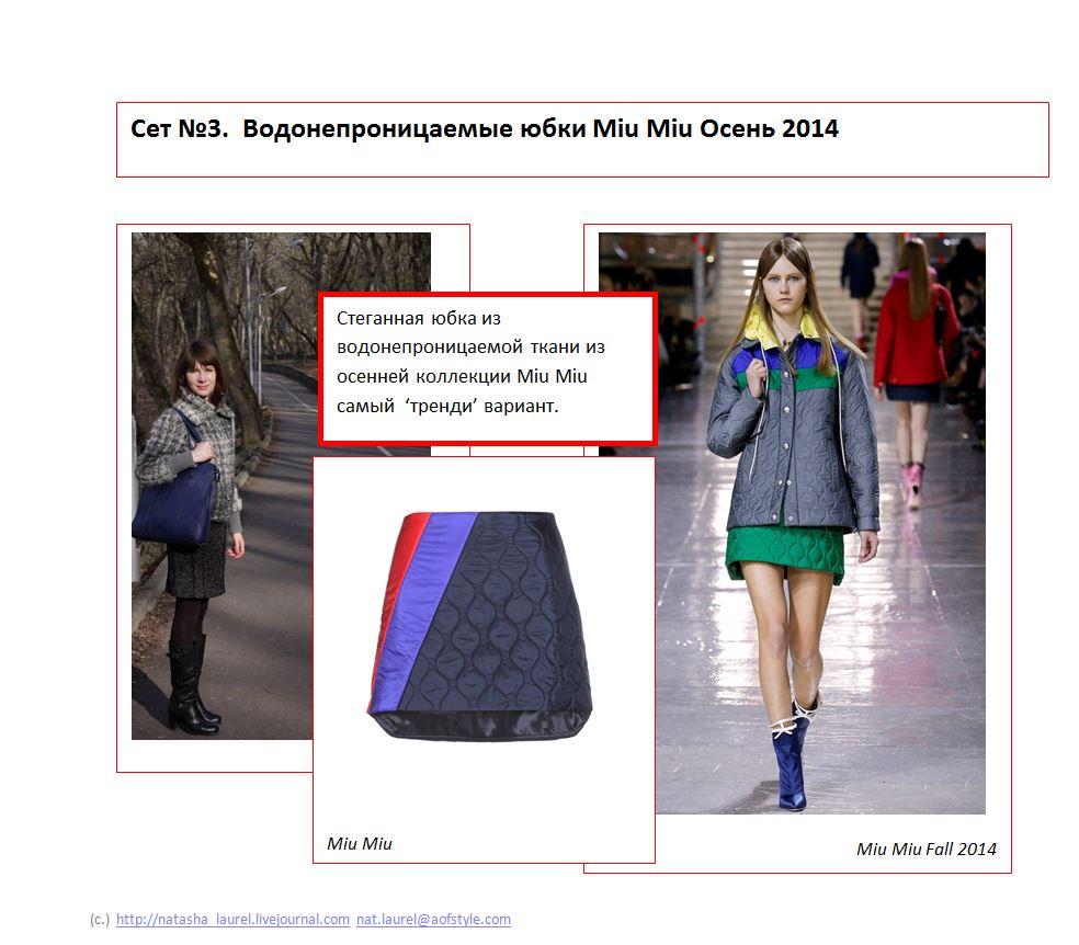 Lavrishina Blog Makeover 18 Tweed  Slide Three Miu Miu Skirt