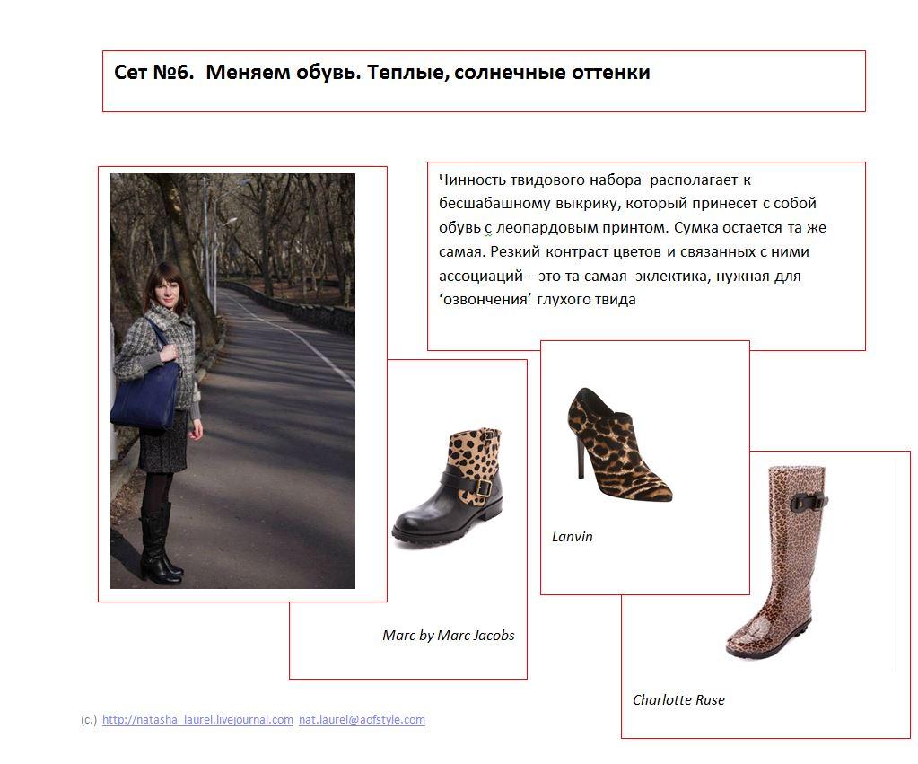Lavrishina Blog Makeover 18 Tweed  Slide Six Cheetah Shoes
