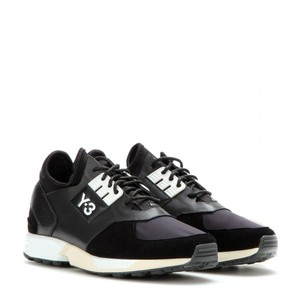 Y-3 my theresa leather and suede sneakrs my theresa