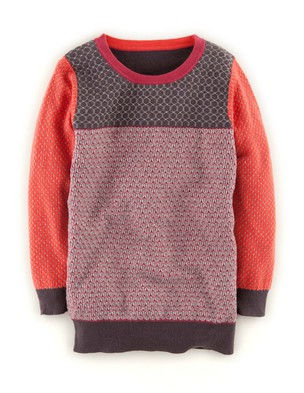 Boden Color block sweater