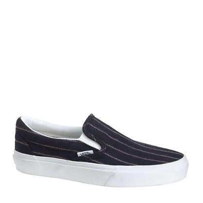 Vans Jcrew Striped Sneakers