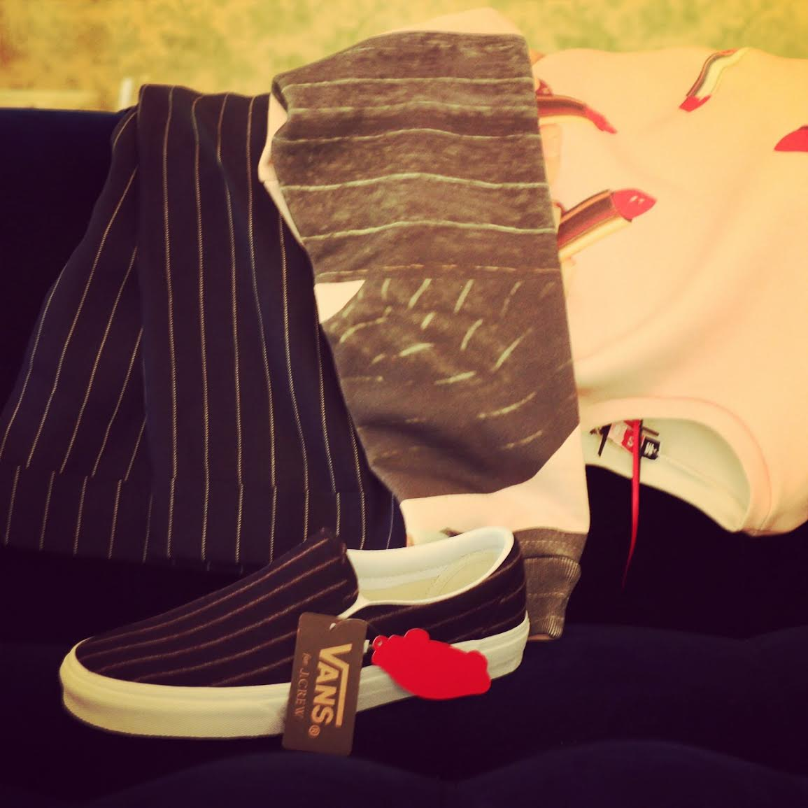 Lavrishina blog vans jcrew sneakers set