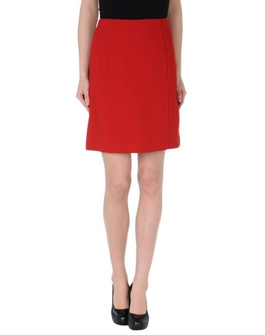 Miu Miu Red Skirt