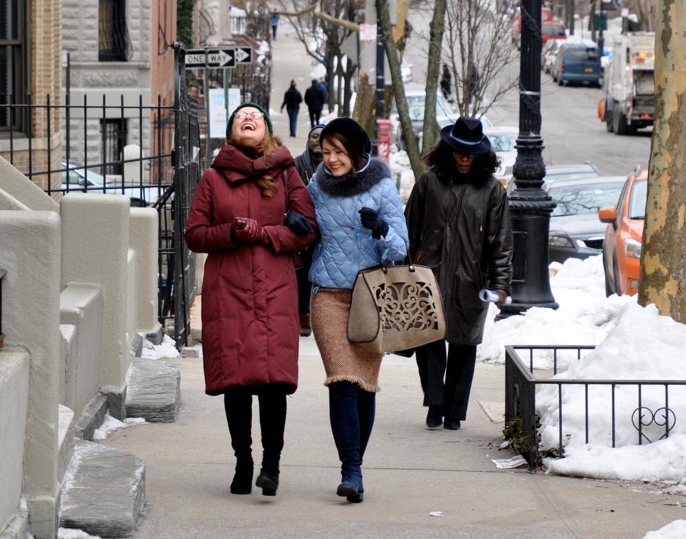 Vera and Lena Downcoats