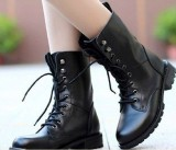 LADIES-ARMY-BOOTS-WOMENS-GIRLS-MILITARY-COMBAT-BIKER-SCHOOL-BOOTS-SHOES