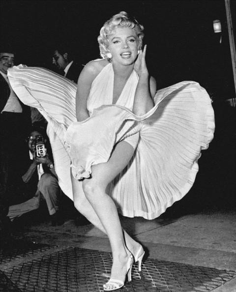 Улетающее платье Мерилин Монро