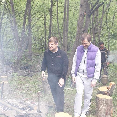Сурков и Кадыров