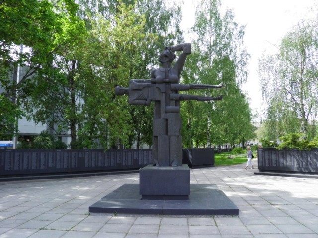 Mother Karelia: memorial to the dead of the Winter and Continuation wars