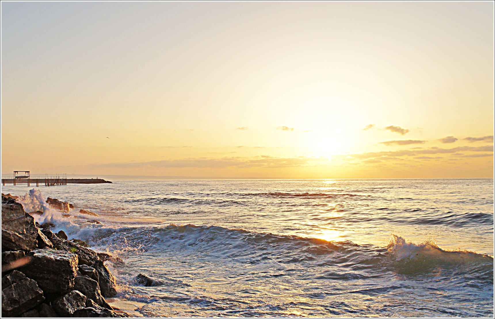 восход над морем1